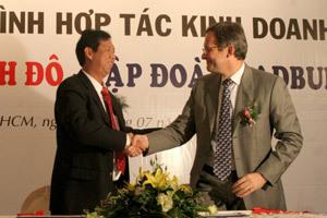 Tổng giám đốc Công ty cổ phần Kinh Đô Trần Lệ Nguyên. Ảnh: X.T.