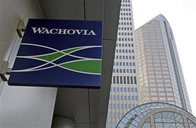 wa 1367007051 500x0 Ngân hàng lớn thứ tư của Mỹ là Wachovia đã bị thôn tính