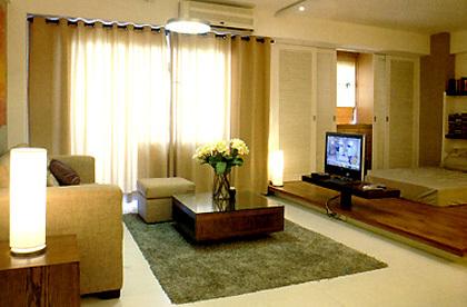 Một căn hộ studio đã được sửa sang ở TP HCM.