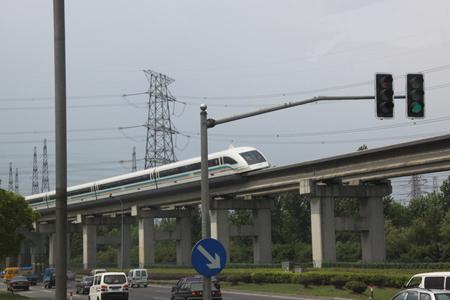 Tốc độ của tàu Shanghai Maglev