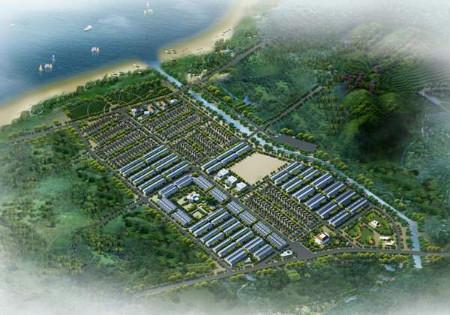 Phối cảnh tổng thể dự án ĐTM Cao Xanh Hà Khánh C.
