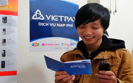 Anh Thiên Ninh  Cầu Giấy hào hứng vì mua được chiếc Sim VietPay.