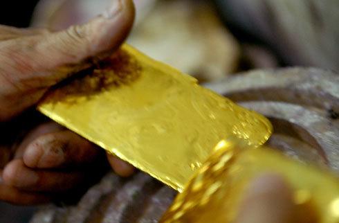 Người dân vẫn có quyền mua, bán và tích trữ vàng miếng. Ảnh: Hoàng Hà