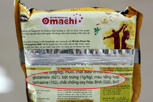 Cục an toàn vệ sinh thực phẩm khẳng định dùng E 102 vẫn an toàn với liều lượng định mức. Ảnh minh họa: Nhật Minh