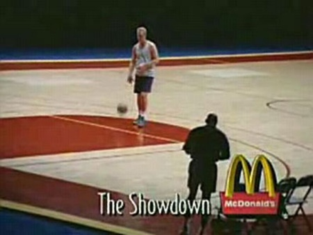 The Showdown, Michael Jordan vs Larry Bird