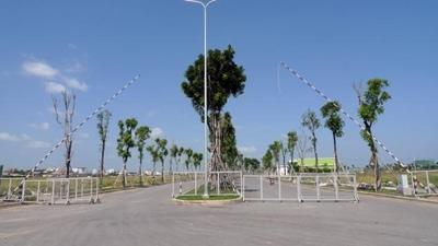 Lối vào dự án Celadon City.