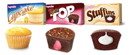 Các dòng sản phẩm bánh tươi đóng gói của Công ty Topcake.