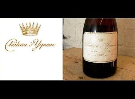 Nhiều chuyên gia khẳng định, 1787 Chateau Yquem là dòng rượu vang trắng đắt và hiếm nhất. Một nhà sưu tập người Mỹ đã nhanh tay tậu chai rượu với giá 100.000 USD vào năm 2006.