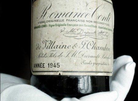 Giá trị của Romanée Conti ở việc nó được sản xuất xuyên suốt thời chiến tranh thế giới thứ 2, trước sự kiện sâu phá hoại nho bùng nổ và chỉ có 600 chai được ra đời. Một nhà sưu tập Mỹ đã trả mức giá kỷ lục 123.000 USD cho chai rượu hiếm có khó tìm này tại nhà đấu giá Christies.