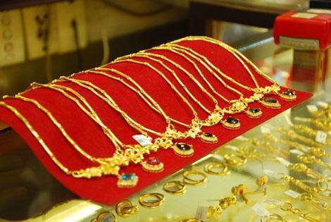 Sức mua và bán vàng miếng đều yếu do gần đây thị trường thiếu sóng. Ảnh: Công Tâm