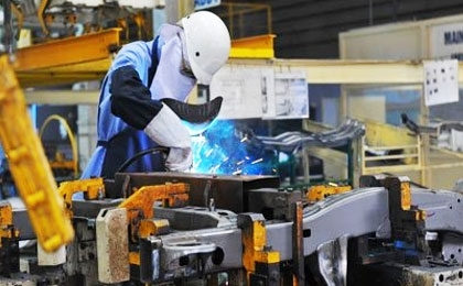 Chế biến - chế tạo vẫn là lĩnh vực thu hút được nhiều FDI nhất sau 7 tháng. Ảnh: AP