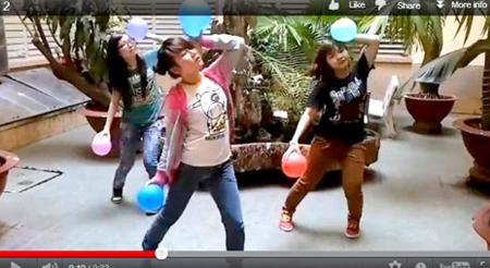 Một trong những video clip Vui Cổ Vũ được cộng đồng mạng yêu thích.