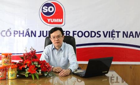 Là một công ty sản xuất thực phẩm, chúng tối hiểu sâu sắc tầm quan trọng của yếu tố vệ sinh an toàn thực phẩm trong việc chiếm giữ niềm tin của khách hàng và nâng cao danh tiếng - Ông Ooi Wee Tat  Tổng giám đốc Jupiter Foods Việt Nam.