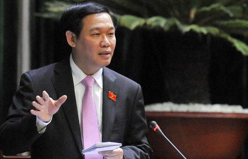 Bộ trưởng Vương Đình Huệ cho biết bản thân ông cũng muốn tăng lương. Ảnh: Hoàng Hà
