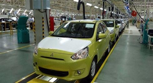 Một nhà máy của Mitsubishi tại Thái Lan. Ảnh: Bloomberg