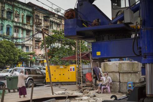 Cả thế giới đang sốt sắn đầu tư vào mỏ vàng Myanmar