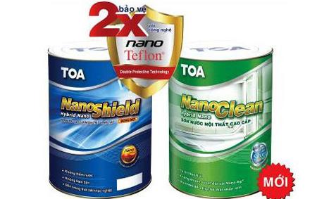 Cặp đôi hoàn hảo TOA NanoShield và TOA NanoClean