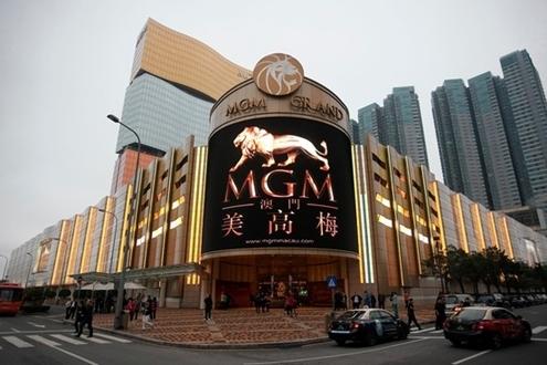 Casino đầu tiên của MGM Trung Quốc tại Macau. Ảnh: WSJ