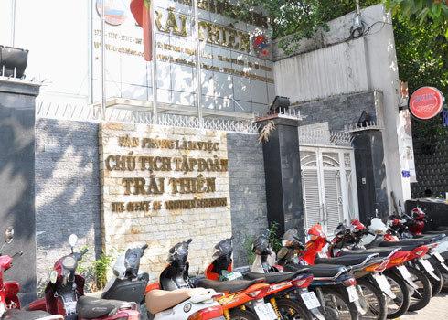 Trụ sở cũng như văn phòng Chủ tịch Trãi Thiên luôn đóng cửa vào thời điểm hãng bị tước giấy phép bay. Ảnh: Kiên Cường