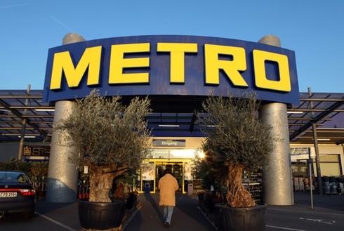 Metro là tập đoàn bán lẻ lớn nhất tại Đức. Ảnh: Bloomberg