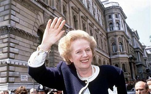 Margaret Thatcher giành chiến thắng tại cuộc bầu cử năm 1987. Ảnh: Telegraph