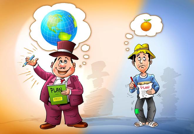 nguoi giau suy nghi lon 1373617072 660x0 Khác biệt trong tư duy của người giàu