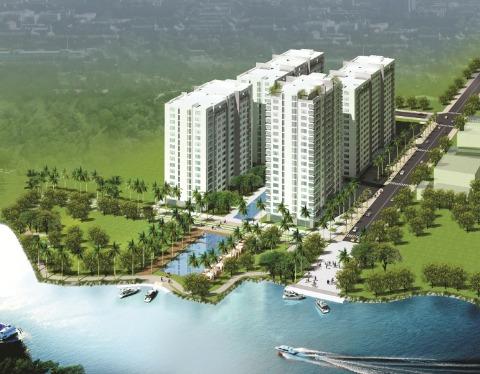 căn hộ resort ven sông Sài Gòn