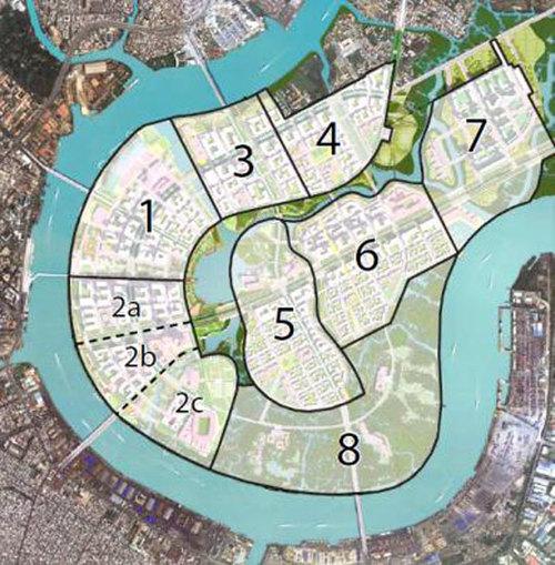 quy hoạch khu đô thị thủ thiêm