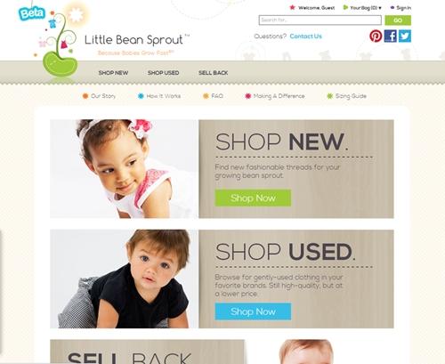 little beans sprout 6621 1385353248 Kinh doanh website quần áo cũ cho trẻ em