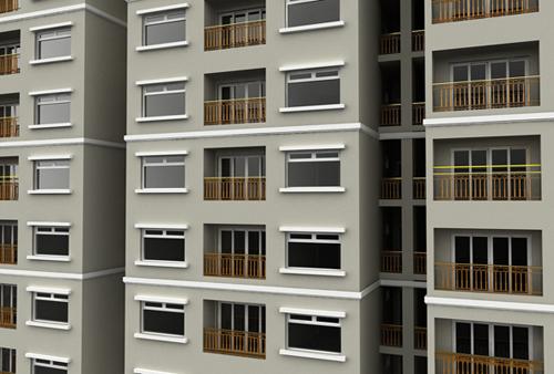 Green City 5098 1388114706 Cất nóc dự án căn hộ Hòa Bình Green City