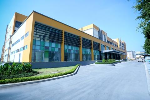 Bệnh viện đa khoa Quốc tế Miền Đông chuẩn bị khai trương, hình chụp thực tế tháng 3/2014.