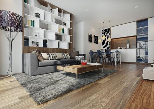 Phong cách thiết kế hiện đại sang trọng của một kiểu nhà được thực hiện trong cuốn sách thiết kế nội thất do chủ đầu tư Phú Mỹ Hưng tặng khách mua dự  án Green Valley. Ảnh mẫu thiết kế của công ty Urban Design