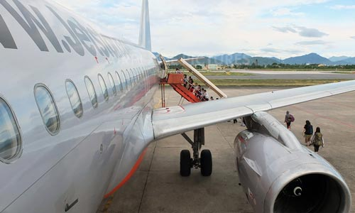 Máy bay chậm chuyến vì lông chim