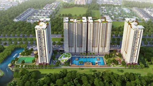 Birdview Duc 140731 guiVNexpre 4716 5016 1407461924 Dự án khu căn hộ phong cách Singapore tại Nam Sài Gòn