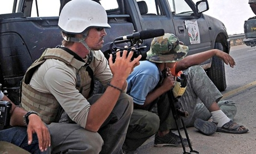 Bi kịch nhà báo Mỹ hé lộ thay đổi trong công nghiệp tin tức chiến tranh