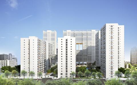 Phú Mỹ Hưng phát triển không gian kiến trúc cảnh quan