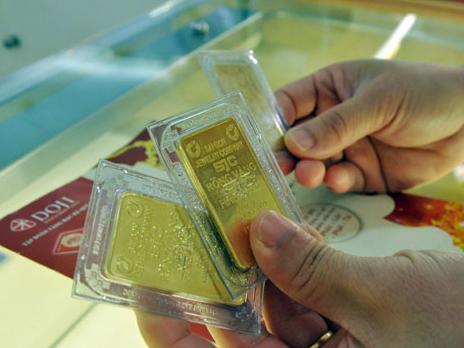 Giá vàng ít biến động trong phiên đầu tuần