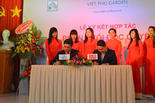 DKV phân phối dự án Việt Phú Garden