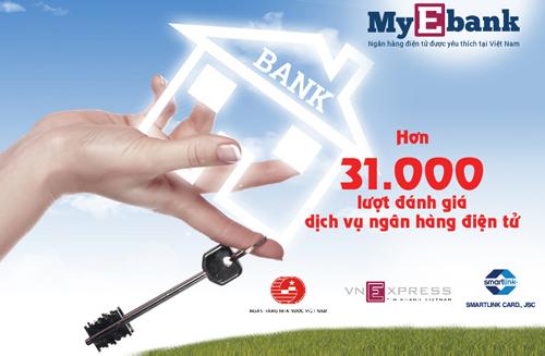 5 ngân hàng được quan tâm nhất My Ebank