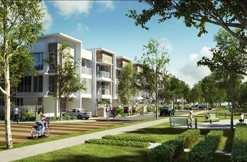 Biệt thự Garden Villas giá từ 47 triệu đồng một m2
