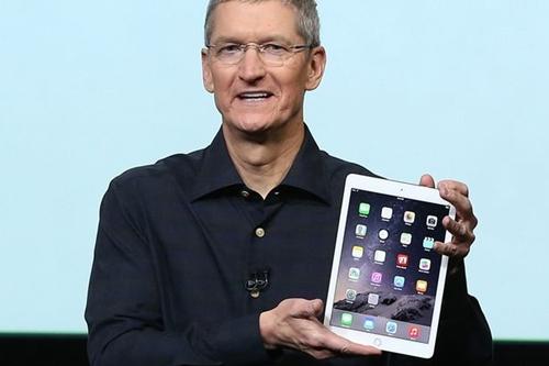 Cổ phiếu Apple giảm sau khi ra mắt iPad mới