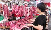 Giá thịt heo giảm tại chợ đầu mối