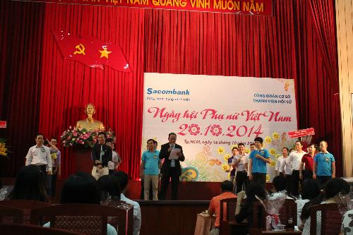 Sacombank chào mừng ngày Phụ nữ Việt Nam