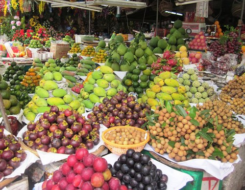 Hoa quả xuất khẩu Việt Nam chủ yếu sang Trung Quốc