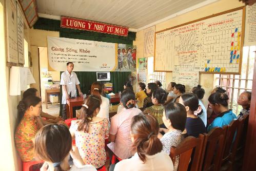 Novartis tăng cường chăm sóc sức khỏe cộng đồng tại Việt Nam