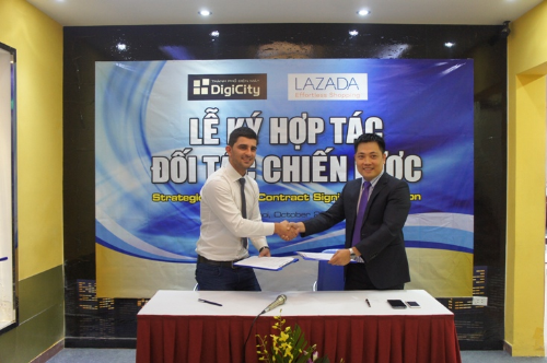 Lazada chọn DigiCity làm đối tác chiến lược cung cấp hàng