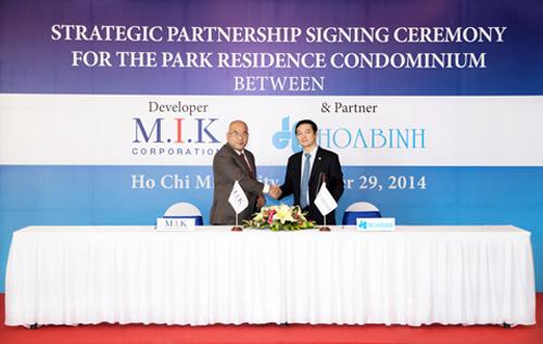 The Park Residence MIK , Hòa Bình chung tay phát triển Dự Án