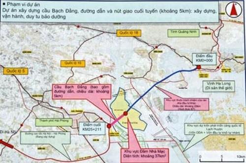 Quảng Ninh chuẩn bị khởi công dự án cầu đường 7.200 tỷ đồng