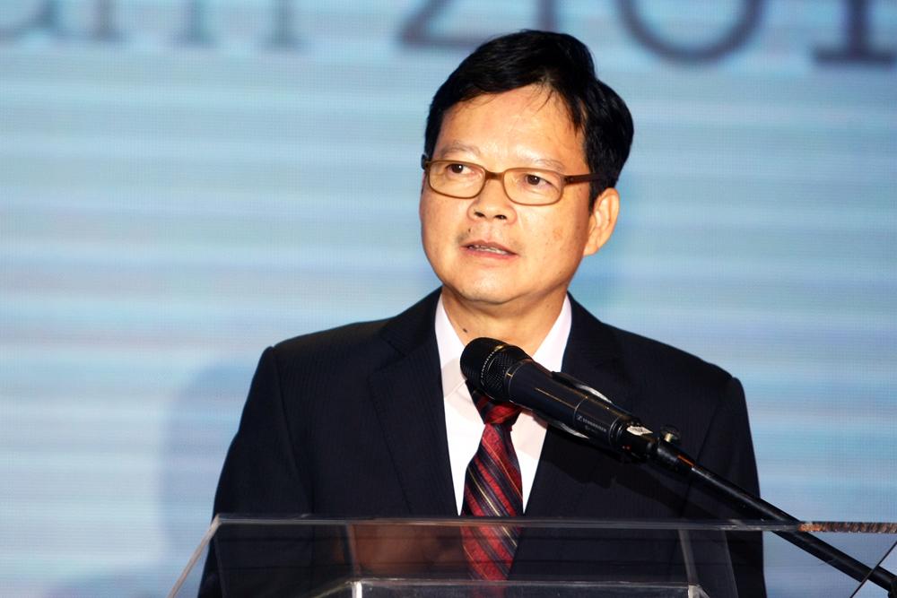 Ông Thang Đức Thắng - Tổng biên tập Báo điện tử VnExpress, Trưởng ban Tổ chức My Ebank phát biểu khai mạc