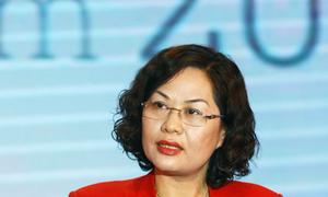 Phó thống đốc Ngân hàng Nhà nước - Nguyễn Thị Hồng phát biểu tại lễ Vinh danh My Ebank